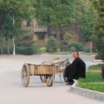 Man With Cart