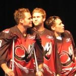 Nick Carlson, Scott Stapleford, John Gallant
