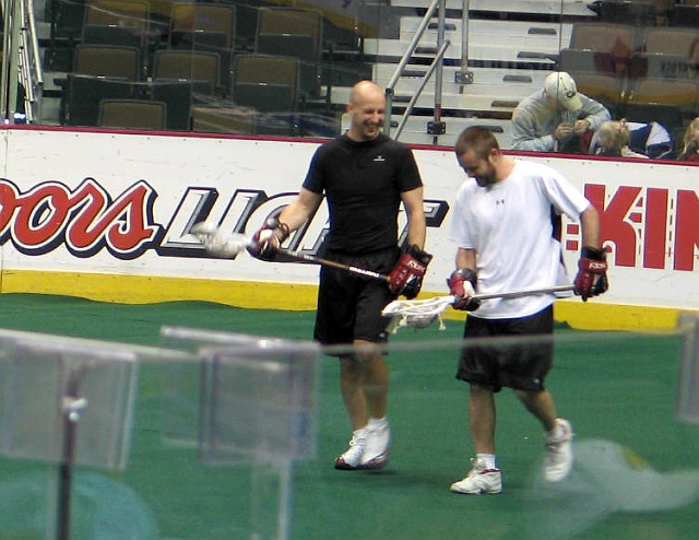Dave Stilley and Brian Langtry, Mammoth Scrimmage 12-17-05