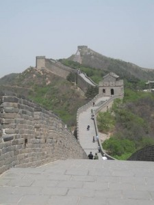 Photo of the Great Wall at Bada Ling